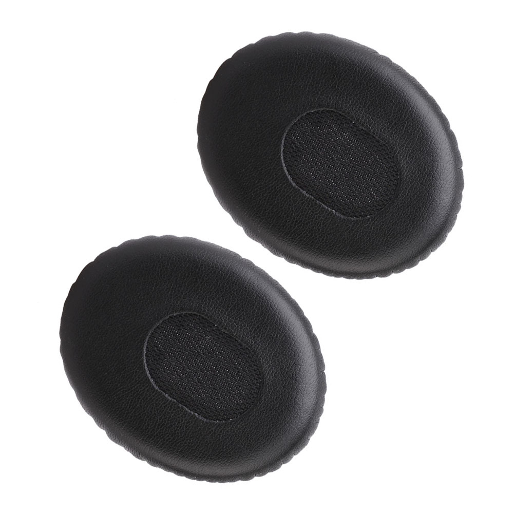 One Pair Black Ear Pads Replacement Ear Pads Cushions Soft Foam Earpads For Quiet Comfort 3 QC3 & On-Ear Headphones HOT Sale