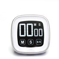 Ücretsiz nakliye, LCD ekran elektronik mutfak sayacı, dokunmatik ekran dijital pişirme zamanlayıcısı