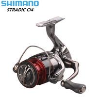 Original Shimano STRADIC CI4+1000HG 2500HG C3000HG 6.0:1 Hagane Gear X Ship Saltwater Spinning Fishing Reel Saltwater Carp Reel