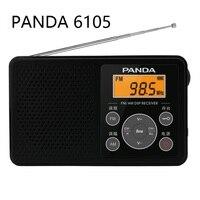 PANDA 6105 digitale abgestimmt FM BIN zwei-band radio Englisch Hören Student Ebene 4 Prüfung FM Campus Empfänger