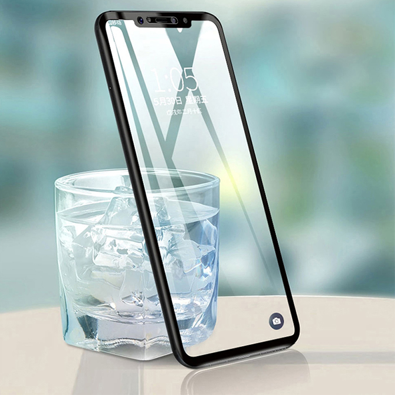 Glass For Pocophone F1 Tempered Glass Full Cover 9H Premium Screen Protector For Xiaomi Pocophone F1 Glass Cover Poco F1 Glass in Phone Screen Protectors from Cellphones Telecommunications