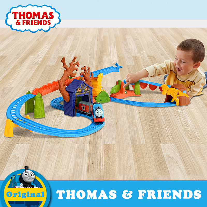 Genuine Thomas & Friends New Electric Series Plastic Train Railway Track Trem de brinquedo Diecast Toy BMF09 For Children Gift