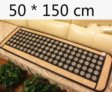 2016 Most Popular Natural Heating Tourmaline Mat Thermal Massage heat Cushion Massage Mattress Health Care 50*150CM цена 2017