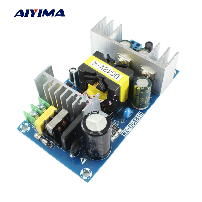 Ai'yi'ma 200W AC-DC Switching Power Supply AC220V To DC48V 2A 3A 4A Power Module Switch Bare Board 110v ac input 200w switching power supply dc48v dc power supply 48v 4a model s 200 48