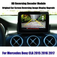 Auto Achteruitrijcamera Voor Mercedes Benz Cla 200 250 2015-2019 2020 Reverse Decoder Rear Parking Camera Upgrade auto Accessoires