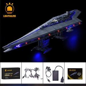 Image 1 - LIGHTAILING LED Light Kit For Star War Series Super Star Destroyer Building Block Light Set Compatible With 10221