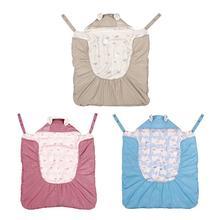 Детские ремень плащ Весна и осень-зима детские открытый плащ сумка-переноска для детей крышка Одеяло утолщенный теплый спальный мешок