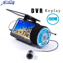Erchang Fish finder Underwater Ice Video Camera fishing 4.3″LED Wired Visual Fish Finder & Video Recording Function Fish Alarm