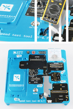 For iphone6s STT quick test device 6S-4.7 with multimeter reading and voltage 6S test LCD test board