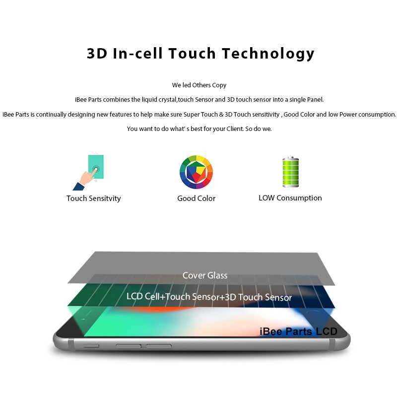 IBee ชิ้นส่วน 10PCS ใหม่รุ่นขั้นสูงสำหรับ iPhone 7 7 Plus จอแสดงผล LCD Touch Screen เปลี่ยนเลนส์ Pantalla