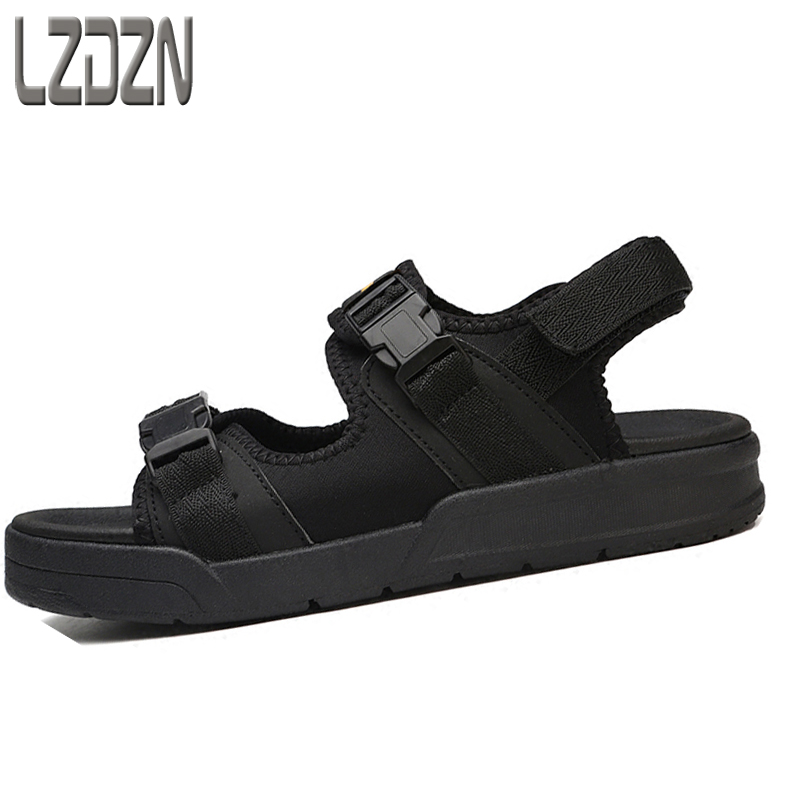 2017 new summer sandals, mens shoes, summer linen, canvas slippers, beach men, middle school students, teenagers