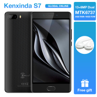 Original Kenxinda S7 Fingerprint 5.0 inch 4500mAh 13+8.0MP Dual Rear Camaras 4G Android7.0 Mobile Cellphone 16GB ROM Smartphone