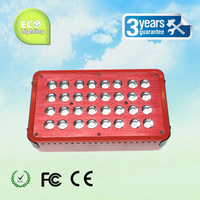 Latest Artemis 2 LED Grow Light 32 3W Remote Controller Dimmable Timer Modular System Lens Red