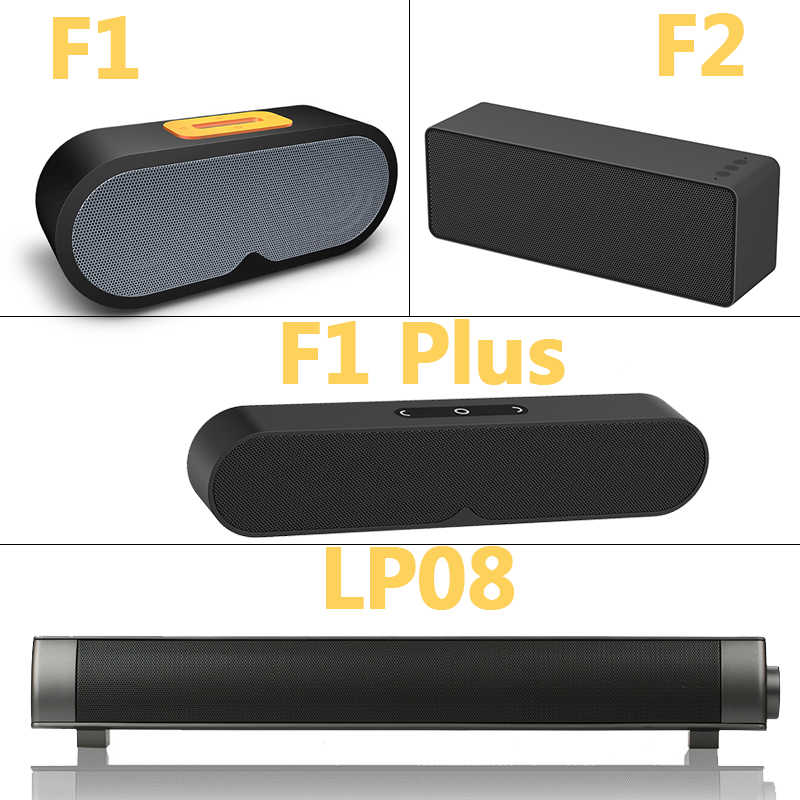 bf553c42d ... FBYEG Altavoz Bluetooth inalámbrico portátil barra de sonido 10 w Super  Bass estéreo altavoz con micrófono ...
