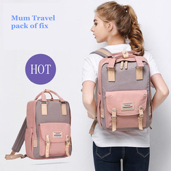 2017 Brand New Lanuched Mummy Bags Big Size Mother&Baby Nappy/Milk/Bottle/Diaper Backpack Hot Mum Travel Pack of Fix Wholesale