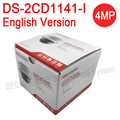 In stock English version DS-2CD1141-I replace DS-2CD2145F-IS DS-2CD2145F-IWS 4MP network dome ip cctv security camera POE IP67