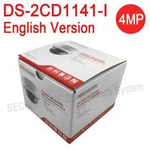 На складе Английская версия DS-2CD1141-I заменить DS-2CD2145F-IS DS-2CD2145F-IWS 4MP сетевая купольная ip-камера видеонаблюдения POE IP67