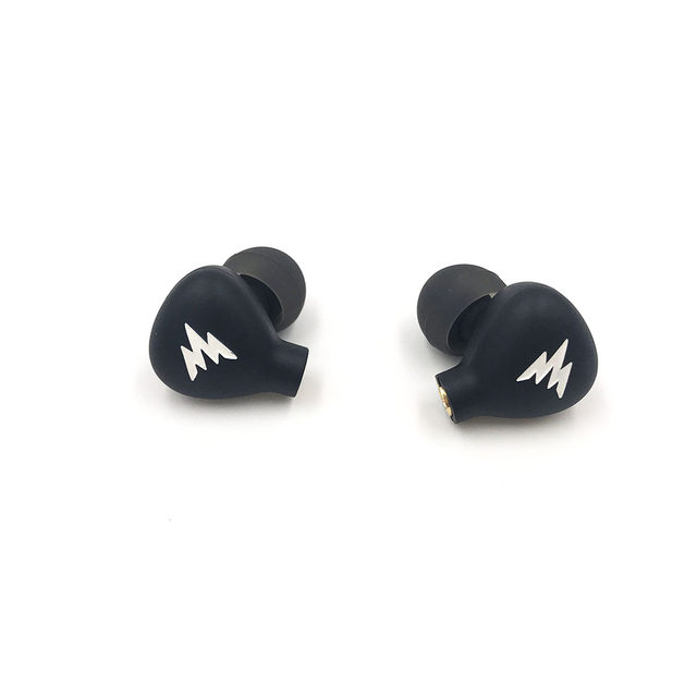 Whizzer Haydn A15 PRO Stainless Steel Dynamic Driver IEM Earphones With MMCX Detachable 6N OFC Cable Black