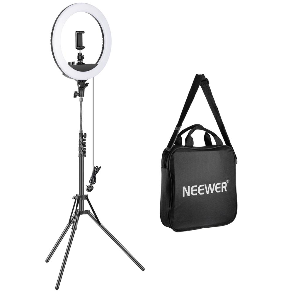 Neewer 14-inch Outer Dimmable LED Ring Light Kit Includes 30W Bi-Color 3200k-5600K Small Ring Light+Light Stand+Soft Tube(UK)Neewer 14-inch Outer Dimmable LED Ring Light Kit Includes 30W Bi-Color 3200k-5600K Small Ring Light+Light Stand+Soft Tube(UK)