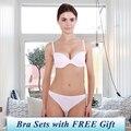 Hot Sale New 2016 Sexy Women Underwear, Sexy Brand Push Up BCD Cup Lingerie Set,Bra Set Deep-V Bra Brief set,Demi Bra Panties