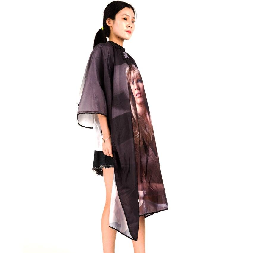 Gratis frakt Professional Soft Salon Voksenhår Cape Girl Pattern - Hårpleie og styling - Bilde 2