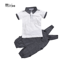 Baby boy girl clothes kids bodysuit infant coverall newborn romper short sleeve polo shirt cotton children costume outfit suit