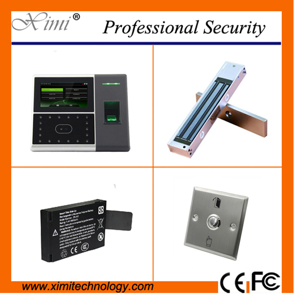 Camera door access control with fingerprint reader 1200 face users TCP/TP time attendance fingerprint access controler door security fingerprint access control reader biometric fingerprint time attendance and access controller