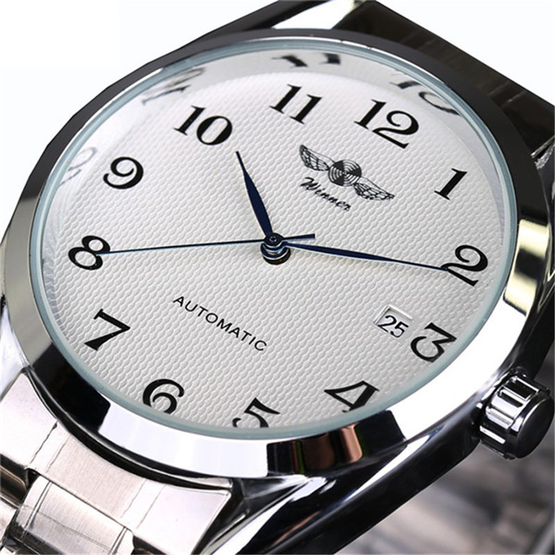 Top Luxury Brand Men Automatic Mechanical Wrist Watches Stainless Steel Business Man Watch Male Clock Business Men Wrist Watch