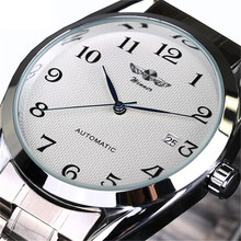 Top Luxury Brand Men Automatic Mechanical Wrist Watches Stai