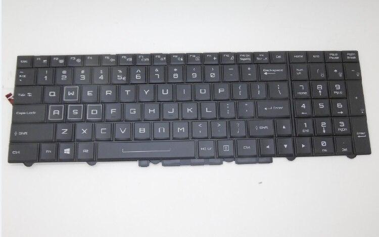 NEW FOR Clevo P750DM P870DM P750ZM-G P750ZM P751ZM P770ZM P771ZM US laptop Keyboard