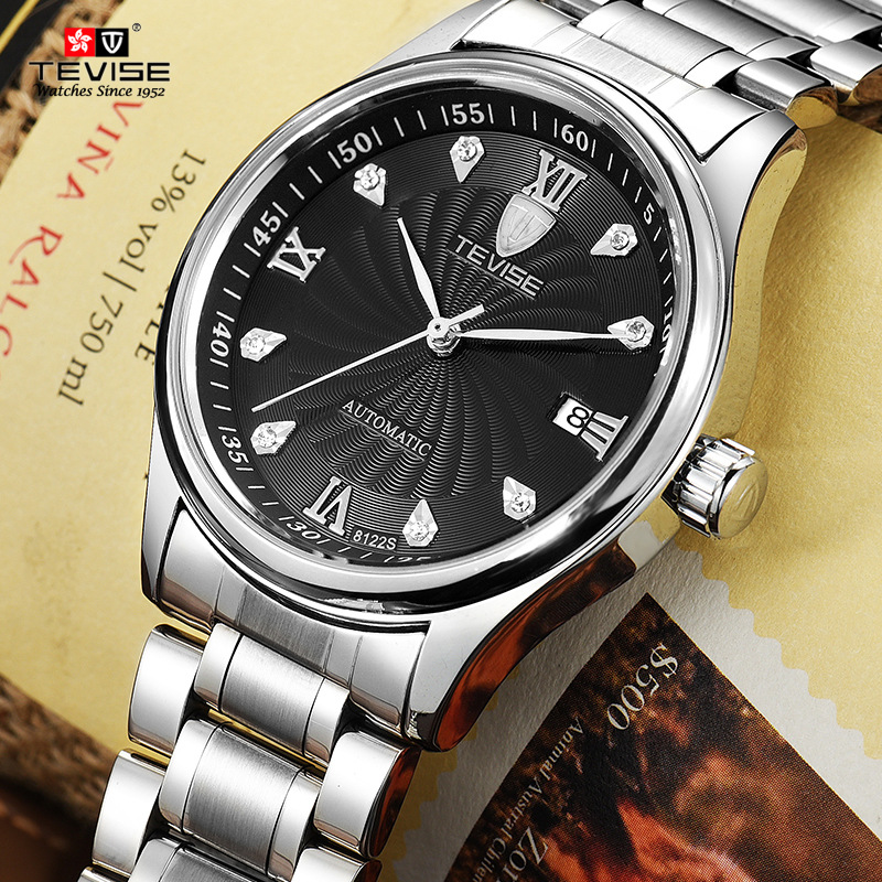 TEVISE Brand Men Mechanical Watches Luxury Fashion Business Watch Automatic Wristwatch Relogio Masculino  Montre Homme 2017 New tevise fashion sport automatic mechanical watch men top brand luxury male clock wrist watches for men relogio masculino t629b