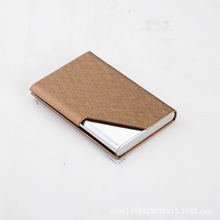 RFID Blocking Business Card Holder Business Men Card Wallet Gold Box Free Shipping