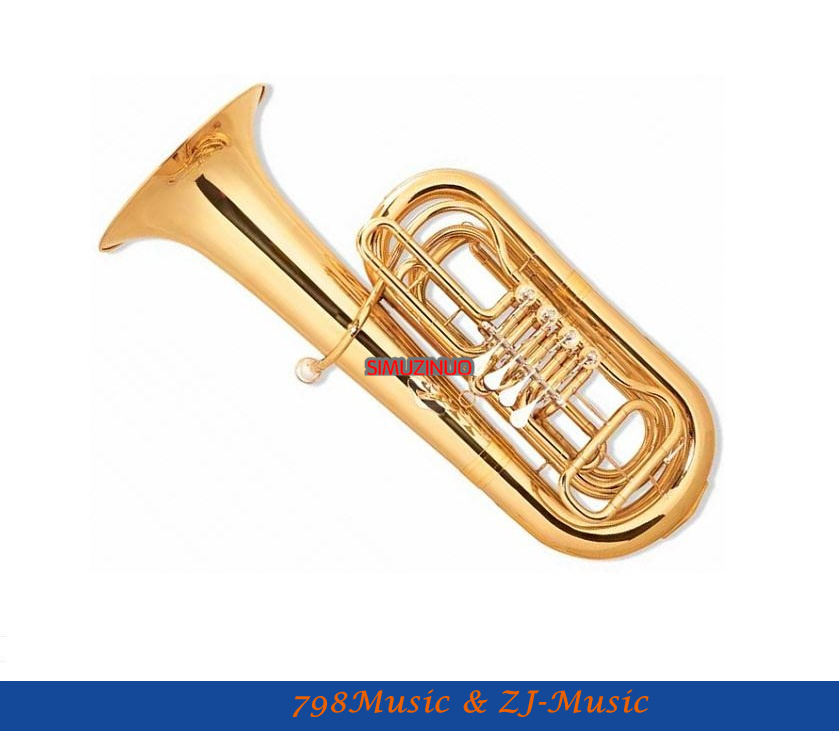 4 ключа tuba Входная модель с Чехол-Размер отверстия: 18mm-Bell dia.370 мм