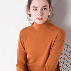 2019 Autumn Winter sweater women turtleneck cashmere sweater  knitted pullover women sweter fashion sweaters new Plus Size tops 6
