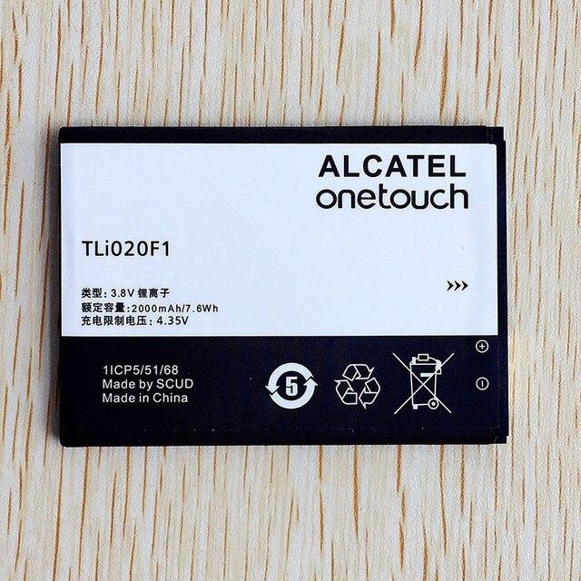 عالية الجودة TLi020F1 بطارية ل TCL J720T J726T الكاتيل بلمسة واحدة البوب 2 5042d C7 7040 OT 7040 OT 7040D الهاتف المحمول