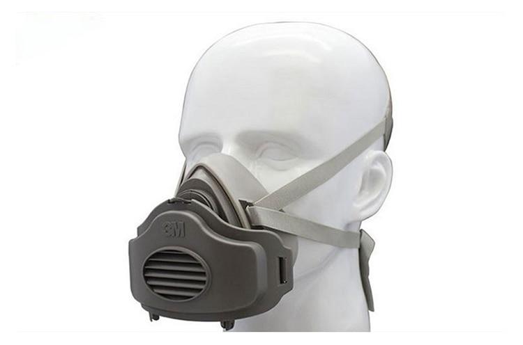 3M 3200 Atemschutzmaske Filter Baumwolle Staubdicht Antibeschlag und - Schutz und Sicherheit - Foto 4