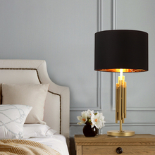 Modern Iron Table Lamp Loft Decor LED Nordic Dining Room Living Room Desk Lamp Showroom Bedroom Bedside Table Light Reading Cafe стоимость