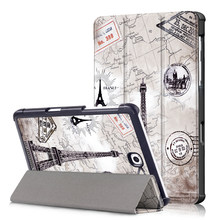 Slim Case voor Samsung Galaxy Tab S2 8.0 SM-T710/T715 Tablet PU Leather Folding Stand Cover voor Samsung Galaxy tab S2 8.0 Case(China)