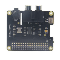 LEORY ES9023 DAC Expansion Board For X900 HIFI DAC HD Audio Expansion Board For Raspberry Pi
