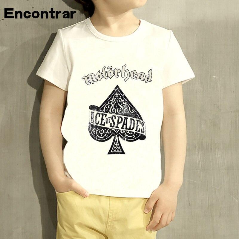 Kids Motorhead Punk Rock Band Born Design Baby Boys/Girl TShirt Kids Funny Short Sleeve Tops Children Cute T-Shirt,HKP4057