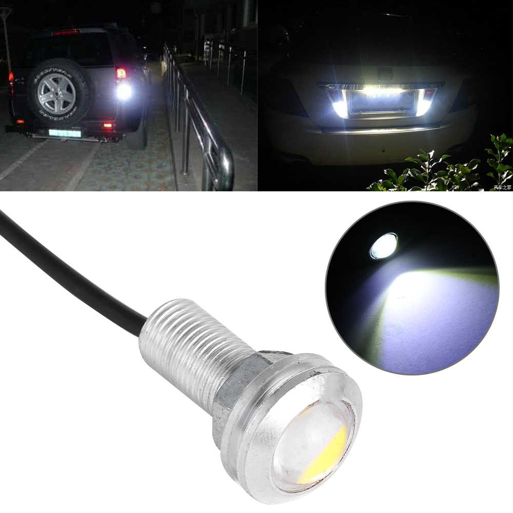 1 PC 18 MM Auto Led Eagle Eye DRL Dagrijverlichting LED Verlichting 12 v Backup Omkeren Parking Camera Signaal auto Lamp lampen
