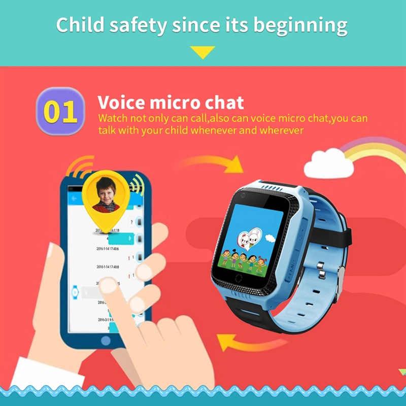 Q528 GPS LBS Smart Watch With Camera Flashlight Baby Watch SOS Call Location Device Tracker for Kid Safe PK Q100 Q90 Q60 Q50