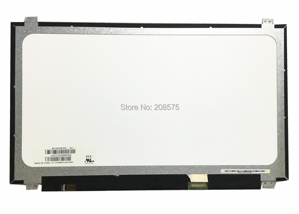 Free Shipping NV156FHM-N42 NV156FHM N42 fit NV156FHM-N41 NV156FHM-N43 LP156WF4 SPU1 LP156WF6 SPF1 1920*1080 EDP 30 Pins IPS 15 6 lcd led laptop screen for boe nv156fhm n46 nv156fhm n41 nv156fhm n31 1920 1080 ips 30pin edp lcd screen 5d10k18374