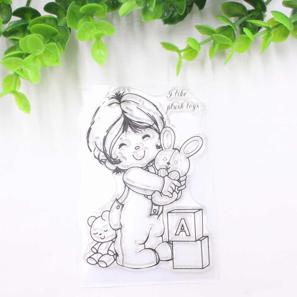 Love scrapbooking stamps together clear rubber DIY stamp for scrapbook decoration card making tools art & craft supplies