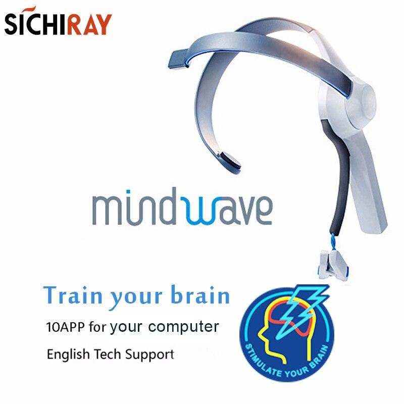 2018 Vendita Calda Mindwave Headset Internazionale Rf Versione Secco Elettrodo Eeg Attenzione E La Meditazione Controller Neuro Le Risposte