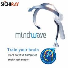 2019 Лидер продаж Mindwave гарнитура Международная Rf версия сухой электрод ЭЭГ внимание и медитации контроллер Нейро отзывы