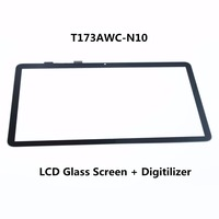 Original New 17.3 inch For HP Pavilion Envy M7 K Series T173AWC N10 Laptop Touch Screen Glass Lens with Digitizer Panel
