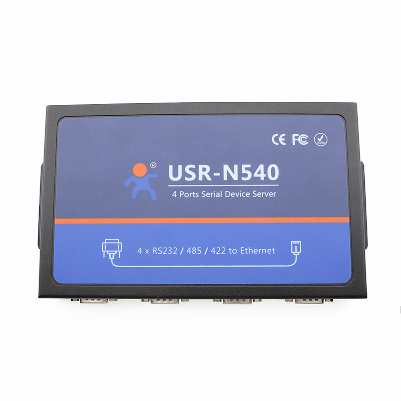 USR-N540 4 Serial Port RS232 Servers to Ethernet Converters RS485 to RJ45 RS422 to TCP IP Module Controller Built-in WebpageQ038 esp 07 esp8266 uart serial to wifi wireless module