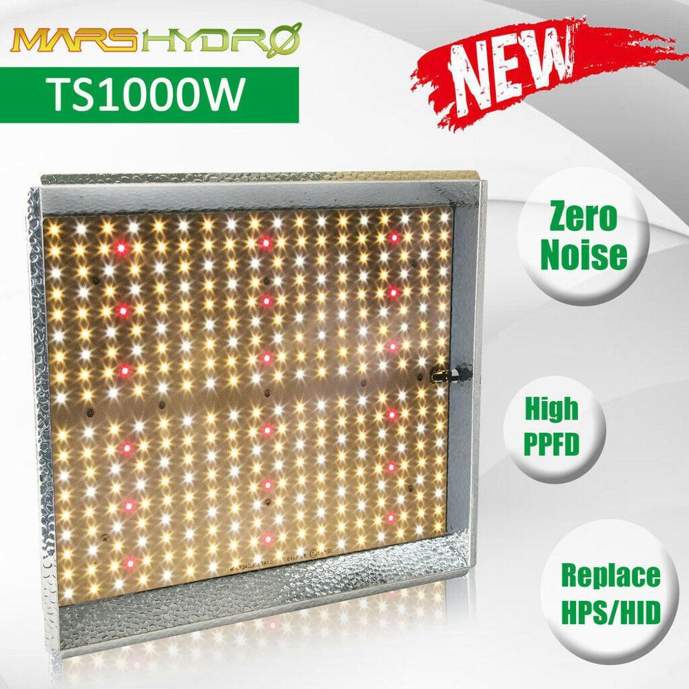 2019 Mars Hidro TS 1000 W 2000 W Cresce A Luz LED Full Spectrum Hidroponia Crescimento Veg Flor Plantas de Interior