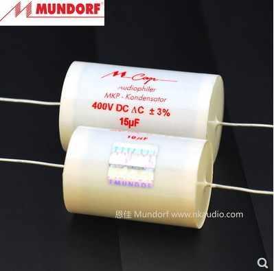 Mundorf MCap400 3,3uF MKP Audio Kondensator MCap ® capacitor 3,3µF 400V 851525